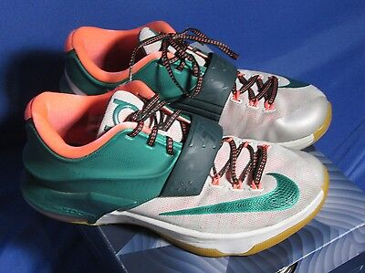 premium selection 626c6 16c21 ... Nike KD 7 VII Easy Money Men s Shoes 653996-330 Mystic Green Light BN  Gum