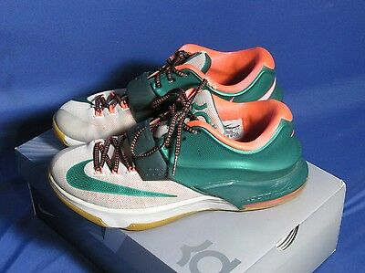 premium selection e11dc b31f0 ... Nike KD 7 VII Easy Money Men s Shoes 653996-330 Mystic Green Light BN  Gum