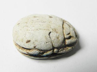 Zurqieh -Af338- Ancient Egypt , 2Nd Intermediate Scarab. 1650-1550 B.c 3