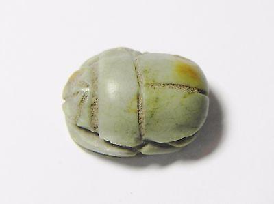 Zurqieh - Q316- Ancient Egypt, New Kingdom. Stone Scarab. 1400 B.c 3