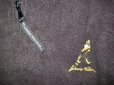 JOHNNIE WALKER BLACK SCOTCH WHISKY GENUINE QUALITY FLEECY TOP WINDCHEATER XXL