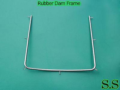 6 Rubber dam Dental Frame Holder 4x4 Surgical Instruments 3