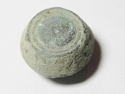 Zurqieh -Aa1974- Ummayyad Bronze Weight (Waznah)  7 - 8Th Cent. A.d - 2 Uqiyyah 2