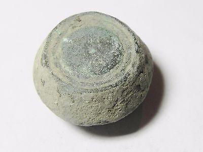 Zurqieh -Aa1974- Ummayyad Bronze Weight (Waznah)  7 - 8Th Cent. A.d - 2 Uqiyyah 2