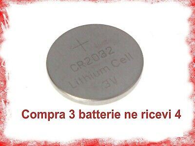 BATTERIE BATTERIA A BOTTONE CR2032 LITIO 3 V PILE CR 2032 orologio 2