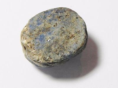 Zurqieh -Q322- Ancient Egypt , Beautiful Lapis Lazuli Scarab. 1400 B.c 5