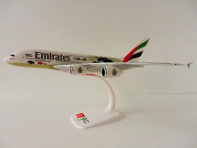 Herpa Snap Wings 1:250 Airbus A 380-800 Etihad Airways 610629