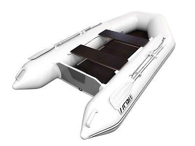 Dinghy Angelboot Beiboot Paddelboot FISH 330 Luxus Schlauchboot mit Luftkiel