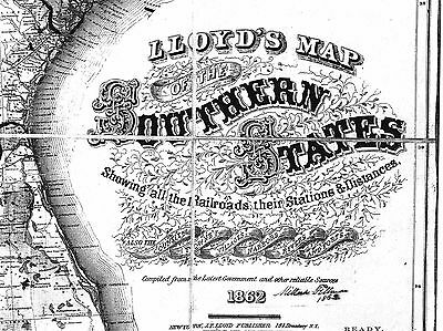 US CONFEDERATE STATES 1862 AR MAP RANDOLPH SALINE SCOTT SEARCY COUNTY HUGE