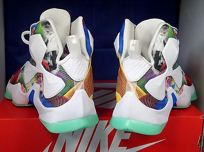 new concept efbc5 3ff0c ... Nike Lebron XIII 13 25K Point Club QS iD Flamingo Floral SZ 7 ( 836141-