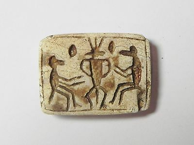 Zurqieh - Q309- Ancient Egypt, New Kingdom. Stone Plaque 1400 B.c 2