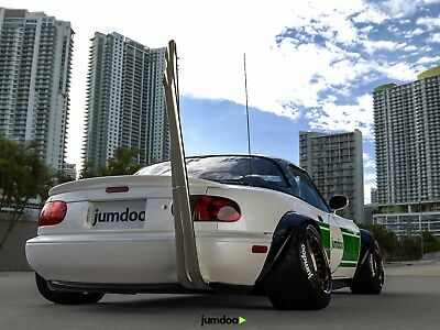 Mazda Mx 5 Miata Fender Flares Jdm Wide Body Kit 47 120mm 4pcs