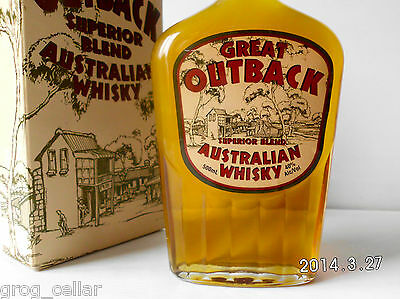 GREAT OUTBACK Rare Old Australian Superior Blend Whisky-Rare 500Ml Version!! 2