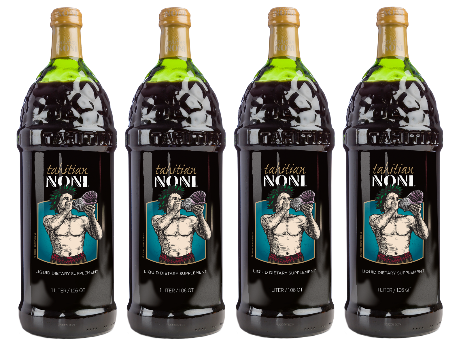 Tahitian Noni Juice by Morinda Inc. (4 bottle case) *NEW LOOK!* 2