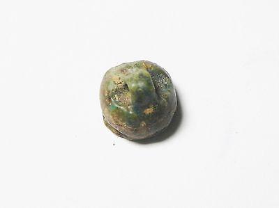 Zurqieh - Ancient Egypt - 18Th Dynasty , 1400 B.c , Faience Bead 4