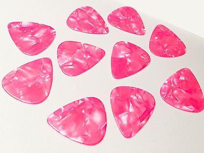 Guitar Picks Hot Pink lot of 10 Cheap