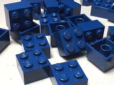 6 ~ 2x2 Dark Blue Tapered Flag Rudder Bricks ~  New Lego Parts ~