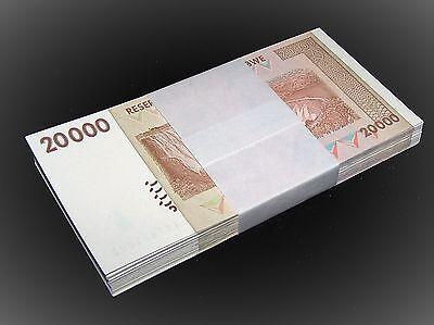 200  Zimbabwe banknotes-100 x 20000 /&50000 dollars-money currency bundles