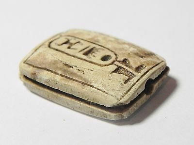 Zurqieh - Q309- Ancient Egypt, New Kingdom. Stone Plaque 1400 B.c 3