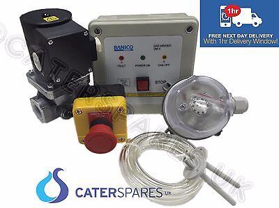 """GAS INTERLOCK MINDER SYSTEM FOR COMMERCIAL KITCHENS SOLENOID VALVE 1"""" (28mm) 3"""