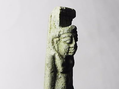 Zurqieh -Tat12- Ancient Egypt , Stunning  Amulet Of Nyphthes. 600 - 300 B.c 6