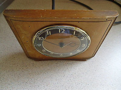 Smiths Sectric Mantel Clock. 1953/55. 6