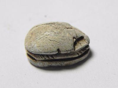Zurqieh -Abq14-  Ancient Egypt, New Kingdom. Stone Scarab 1400 B.c