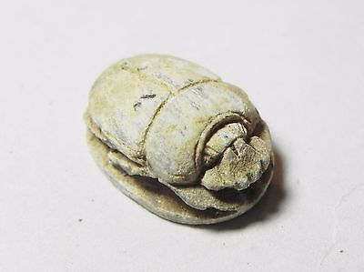 Zurqieh -Af849- Ancient Egypt , 2Nd Intermediate Stone Scarab. 1782 - 1570 B.c 2 • CAD $501.68
