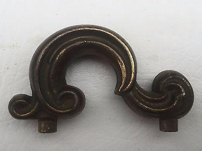 "MCM Antique Hardware Vintage Drawer Pull Vanity Door Knob Handle 1 3/4""centers 3"