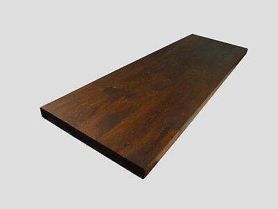 Arbeitsplatte Tischplatte Massivholzplatte Räuchereiche Massiv