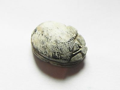 Zurqieh -Af578-  Ancient Egypt, New Kingdom. Stone Scarab 1400 B.c 2