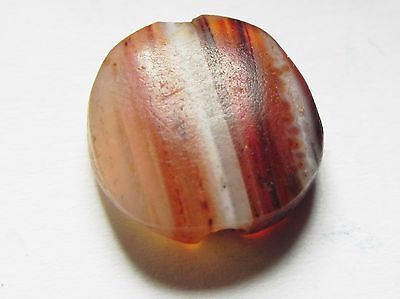 Zurqieh -Af633-  Ancient Egypt, New Kingdom. Agate Bead 1400 B.c 2