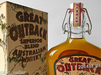 GREAT OUTBACK Rare Old Australian Superior Blend Whisky-Rare 500Ml Version!! 3