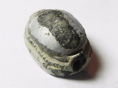 Zurqieh -Af704- Ancient Egypt ,2Nd Intermediate Stone Scarab. 1782 - 1570 B.c 5 • CAD $330.26