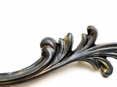 "CUSTOM French Provincial Antique Vintage Drawer Pull 4 1/4"" on center 2"