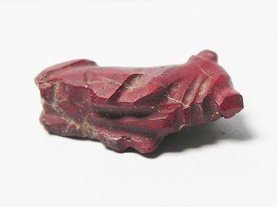 Zurqieh - Af40- Ancient Egypt. Red Jasper Cow Amulet. 600 - 300 B.c 3