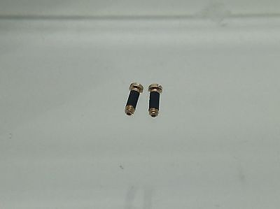 3bdce43ff09c 4 4 of 6 Authentic Rayban RB 3016 Clubmaster Replacement Temple   Hinge  Screws Gold New!! 5
