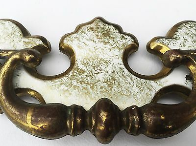 """Chippendale Antique Hardware Vintage French Provincial Drawer Pull 3"""" centers 3"""