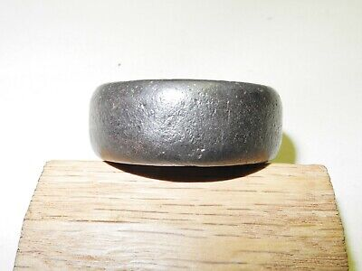 """Vintage Early Singer Treadle Sewing Machine Cast Base Wheel, 1/2"""" Wide, Pin/Axle 5"""