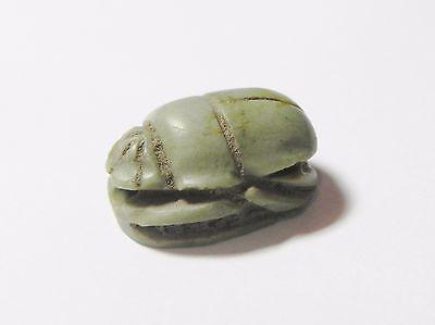 Zurqieh - Q316- Ancient Egypt, New Kingdom. Stone Scarab. 1400 B.c 2