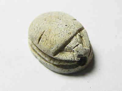 Zurqieh -Af681- Ancient Egypt ,2Nd Intermediate Stone Scarab. 1782 - 1570 B.c 2