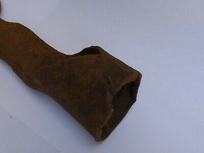 altes Werkzeug 🍀 Eisenring Öse rostig  Eisen Schmiedeeisen  bäuerliches Gerät 9