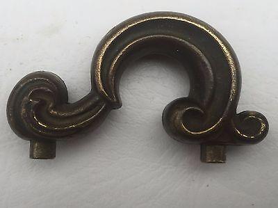 "MCM Antique Hardware Vintage Drawer Pull Vanity Door Knob Handle 1 3/4""centers 4"