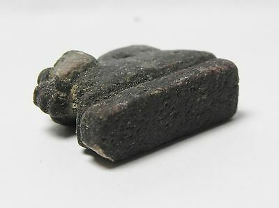 Zurqieh -Af109- Ancient Egypt , Faience Khnum Amulet, 600 - 300 B.c 4