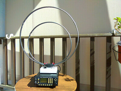 HF LOOP ANTENNA for Portable - Base Radio Scanner Receiver icom Yaesu AOR  Sony