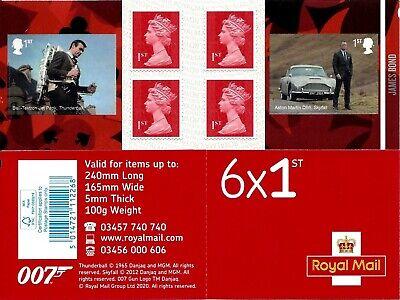 James Bond 2020 Mint Presentation Pack 583 Stamps Sheet Prestige & Retail Books 6