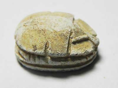 Zurqieh -Af648- Ancient Egypt ,2Nd Intermediate Stone Scarab. 1782 - 1570 B.c