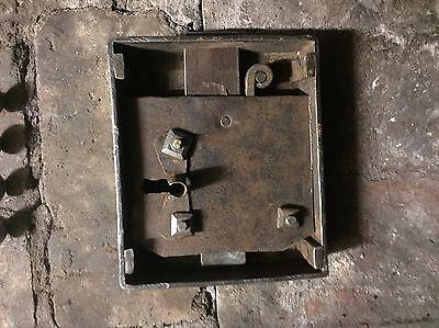 Skeleton key Door Lock Antique & Authentic! 6
