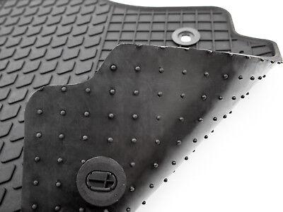 NEU $$$ $$$ Gummimatten für Opel Corsa E Gummi- Fußmatten RAND BLAU