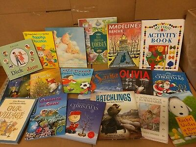 Lot of 10 Childrens Reading Bedtime-Story Time Kids BOOKS RANDOM MIX UNSORTED 3